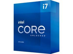 Intel Core i7-11700K - Core i7 11th Gen Rocket Lake 8-Core 3.6 GHz LGA 1200 125W Intel UHD Graphics 750 Desktop Processor - BX8070811700K