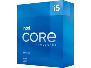 Intel Core i5-11600KF Rocket Lake 6-Core 3.9 GHz LGA 1200 125W BX8070811600KF Desktop Processor