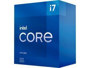 Intel Core i7-11700F - Core i7 11th Gen Rocket Lake 8-Core 2.5 GHz LGA 1200 65W Desktop Processor - BX8070811700F