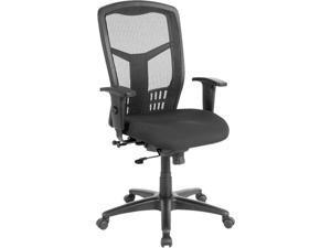 "Lorell Exec High-Back Swivel Chair 28-1/2""x28-1/2""x45"" Black 86205"