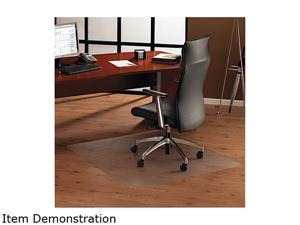 Cleartex Ultimat Xxl Polycarbonate Chair Mat For Hard Floors, 60 X 60, Clear