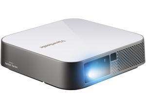 ViewSonic M2e Smart Wi-Fi Portable Mini Projector 1080p with 1000 LED Lumens H/V Keystone Auto Focus Harman Kardon Bluetooth Speakers USB Type C