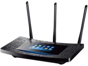 TP-Link RE590T IEEE 802.11ac 1.86 Gbit/s Wireless Range Extender - 2.40 GHz, 5 GHz - 4 x Network (RJ-45) - Ethernet, Fast Ethernet, Gigabit Ethernet - Desktop