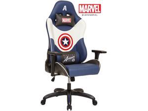 Marvel Avengers Gaming Chair Desk Office Computer Racing Chairs - Recliner Adults Gamer Ergonomic Game Reclining High Back Support Racer Leather Rocker - Captain America