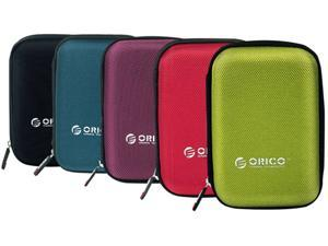 "[5 Color in Pack] ORICO Portable 2.5 inch HDD Protective Carry Case Cover Bag Carrying Shell Case for 2.5"" HDD Protector Bag"