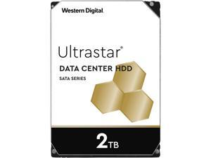 "Western Digital Ultrastar 2TB DC HA210 7200 RPM SATA 6.0Gb/s 3.5"" Data Center Internal Hard Drive - 1W10002"