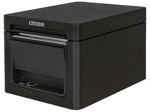 Citizen CT-E651RSUBK CT-E651 Series Fast High Performance Direct Thermal Receipt and Label Printer – USB/Serial – Black