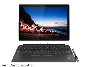 "Lenovo ThinkPad X12 Detachable 20UW000SUS Intel Core i7 11th Gen 1180G7 (2.20 GHz) 16 GB Memory 512 GB SSD Intel Iris Xe Graphics 12.3"" Touchscreen 1920 x 1280 Detachable 2-in-1 Laptop Windows 10 Pro"