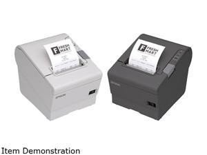 Epson C31CE94A9592 T88VI-061 Thermal Receipt Printer with Cloud Support, 80mm, Seria l/ Wireless Dongle WL06, Black, with Power Supply