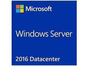 Microsoft Windows Server 2016 Datacenter License and Media 16 Core - Box Pack (P71-08651)