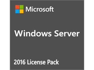 Windows Server 2016 -  1 User CAL - OEM