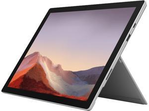 "Microsoft 2-in-1 Laptop Surface Pro 7 PVP-00001 Intel Core i3 10th Gen 1005G1 (1.20 GHz) 4 GB LPDDR4X Memory 128 GB SSD Intel UHD Graphics 12.3"" Touchscreen Windows 10 Pro 64-bit"