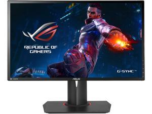 "ASUS ROG Swift PG248Q eSports Gaming Monitor - 24"" FHD (1920 x 1080) 1ms, Overclockable 180 Hz, G-SYNC, DisplayPort 1.2, HDMI and USB 3.0 ports"