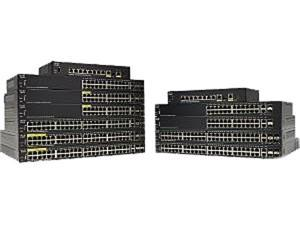Cisco Sf350-24Mp 24-Port 10 100 Max Poe Managed Switch