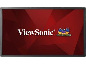 """ViewSonic CDM4300T 43"""" Edge-lit Interactive Digital Signage with Integrated 10-Point Multi-touch and Built-in 16GB Quad Core Media Player"""
