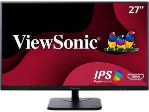 """ViewSonic VA2756-MHD 27"""" Full HD 1920 x 1080 VGA HDMI DisplayPort Built-in Speakers SuperClear Backlit LED IPS Monitor"""