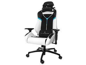 Mobile Edge VG-S5000_AL Alienware S5000 - Chair - Armrests - T-Shaped - Tilt - Swivel - Aluminum, Pvc, Steel, Foam