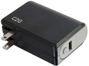 C2G 20275 Travel/Wall Charger for Universal-Black