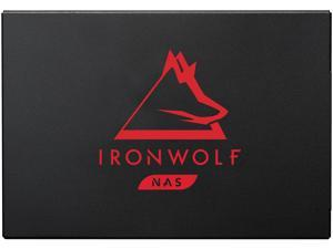 Seagate IronWolf 125 SSD 2TB NAS Internal Solid State Drive - 2.5 Inch SATA 6Gb/s Speeds of up to 560 MB/s, 0.7 DWPD Endurance and 24x7 Performance for Creative Pro and SMB/SME (ZA2000NM1A002)