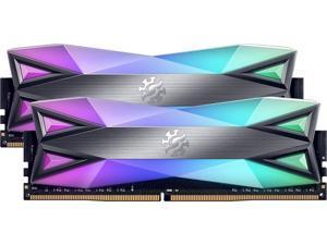 XPG SPECTRIX D60G RGB Desktop Memory: 16GB (2x8GB) DDR4 3200MHz CL16 GREY