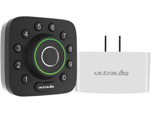 Ultraloq AC UBoltProUB01 Fingerprint  Keypad Deadbolt  Bridge WiFiAdaptor