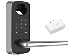 Ultraloq Lever Bluetooth Enabled, Fingerprint and Touchscreen Smart Lever Lock