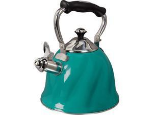 Mr Coffee 92114.01 Alberton Tea Kettle with Lid & Emerald, Green