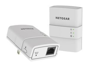 Netgear XAVB5221-100PAS AV500 1-Port Essentials Edition Powerline Kit, up to 500Mbps
