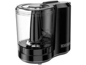 Black + Decker HC300B One-Touch 3 Cup Capacity Black Chopper