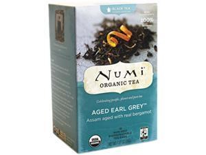 Num 10170 Organic Teas and Teasans, 1.27 oz, Aged Earl Grey, 18/Box