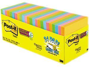 Post-it Pads in Marrakesh Colors 3 x 3 70-Sheet 24/Pack 65424SSANCP