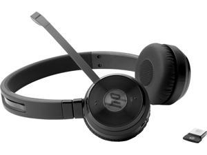 HP W3K09AA Uc Wireless Duo - Headset - On-Ear - Bluetooth - Wireless - Nfc - For Elitebook 1050 G1, Elitebook X360, Elitedesk 800 G4, Eliteone 1000 G2, Prodesk 400 G5