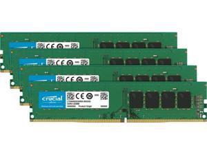 Crucial 32GB (4 x 8GB) 288-Pin DDR4 SDRAM DDR4 2400 (PC4 19200) Memory (Desktop Memory) Model CT4K8G4DFD824A