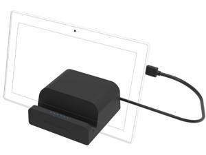 Sabrent USB 3.0 Universal Docking Station with Stand for Tablets and Laptops (DS-RICA)