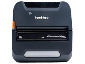 Brother Ruggedjet Rj4230bl Direct Thermal Printer - Monochrome - Portable - Label/Receipt Print