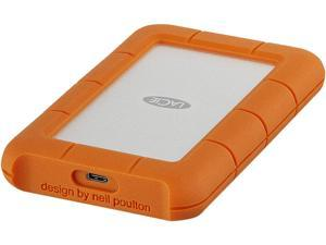 LaCie 1TB Rugged USB-C Portable Drive USB-C Model STFR1000800