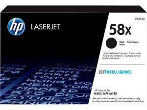 HP CF258X 58X Original High Yield 10,000pg Toner Cartridge, Black