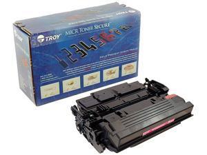 Troy 02-81676-001 High Yield MICR Secure Toner Cartridge (Alternative for HP 87X/CF287X) - Black