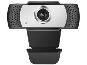 [Manual focus] Full HD Webcam 1080P - Pro Web Camera with Stereo Microphone - USB Computer Camera for PC Laptop Desktop Mac Video Calling, Conferencing Skype YouTube