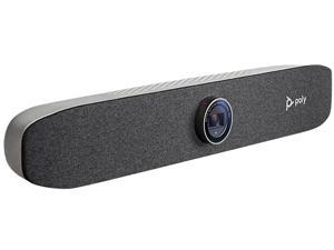 Poly Studio P15 Personal 4K Video Bar with Mic and Speakers 2200-69370-001