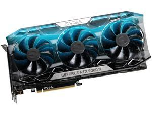 EVGA GeForce RTX 2080 Ti FTW3 ULTRA GAMING, 11G-P4-2487-KR, 11GB GDDR6, iCX2 & RGB LED