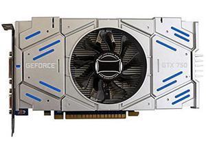CORN GTX750 Graphic Card 1GB 128 Bit DDR5 DirectX 12 Video Card GPU PCI Express3.0 16X DVI/VGA/HDMI