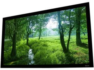 Elara 106in 16x9 White Fixed Frame Screen