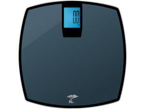 ToiletTree Products 400 lb Capacity Precision Digital Glass Bathroom Scale, Grey