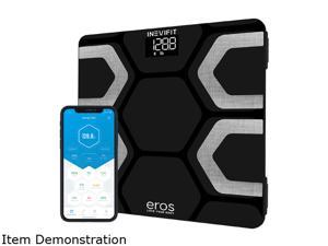 Eros Bluetooth Smart Body Fat Scale with Free Tracking Eros Scale APP