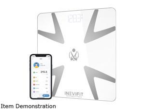 INEVIFIT Smart Body Fat Scale with Bluetooth and Free Tracking INEVIFIT APP