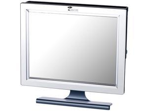 ToiletTree Deluxe LED Fogless Shower Mirror with Squeegee