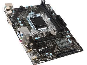 MSI H110M Pro-D mATX Motherboard Intel LGA 1151 Socket w/ DVI Video, SATA III