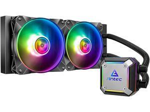 Antec Neptune Series Neptune 240 ARGB, 240 mm Radiator, Ultra-Thin CPU Block, Advanced Water Pump Design, PWM Fan, CPU Liquid Cooler