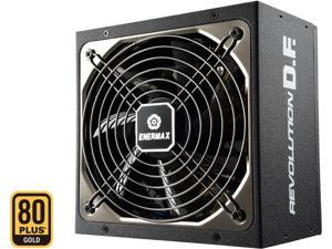 ENERMAX Revolution D.F. 850W 80 Plus Gold 850W, Full Modular, Multi Rail, 7 Year Warranty, Power Supply, ERF850EWT